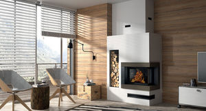 Chazelles - forest angle - Fireplace Insert