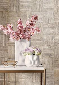 THIBAUT - mosaic weave - Wallpaper