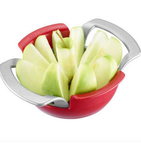 Apple corer and slicer