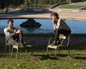 Edmond & Fils -  - Garden Armchair