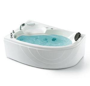 Thalassor - kenya 150 gauche - Corner Whirlpool Bath
