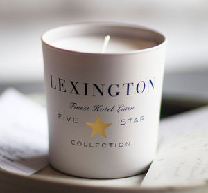 Lexington Company - hotel scented - Scented Candle
