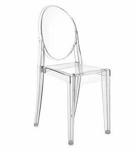 Kartell - victoria ghost - Medallion Chair