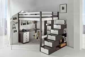 FLEXA Paris -  - Mezzanine Bed