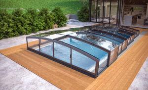 Albixon - miami - Sliding/telescopic Pool Enclosure