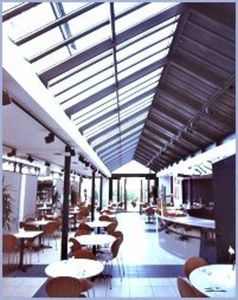 Clear Span -  - Glass Roof