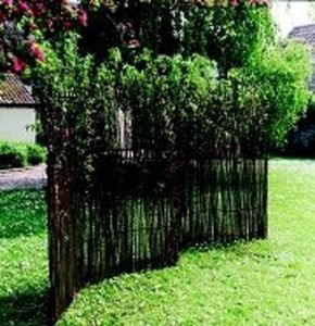 English Hurdle -  - Fence With An Openwork Design
