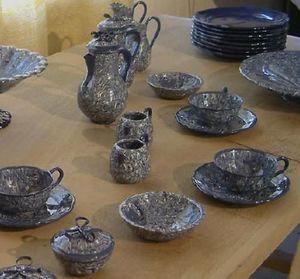 Pierre Faucon Atelier Bernard -  - Tea Service