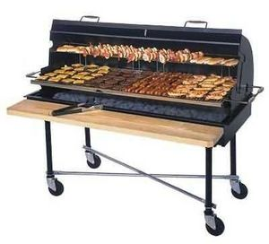 Belson - charcoal/mesquite fired grills - Charcoal Barbecue