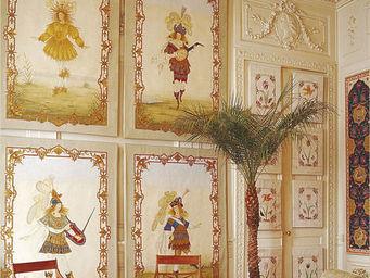 Iksel - louis xiv dancers - Decorative Panel