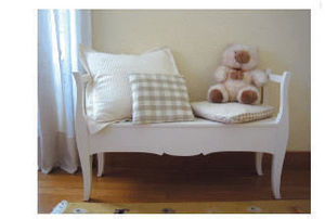 GRIS ALBA DECORACION -  - Children's Bench