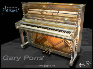 Gary Pons France - gary pons 125 platinium - Upright Piano