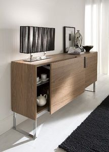 md house - all - Sideboard With Pull Out Shelf