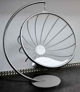 TST Mobilier - crysalid inox - Hanging Armchair