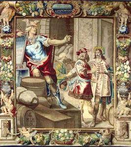 Manufacture Robert Four - allégorie du commerce - Brussels Tapestry