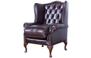Distinctive Chesterfield Sofas -  - Armchair With Headrest