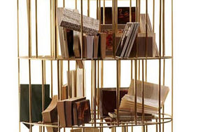 COPPER IN DESIGN -  - Open Bookcase