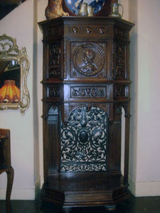 Grand Papa Antiquites -  - Bonnetiere Cupboard