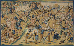 Galerie Hadjer - scène de l'ancien testament - Aubusson Tapestry
