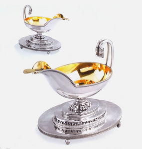 Dario Ghio Antiquites -  - Saltcellar And Pepperpot