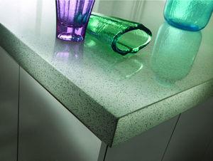 SILESTONE COSENTINO - eco whiate diamond - Kitchen Worktop