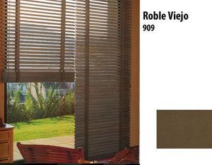 Variance store - vénitien bois tilleul blanc laqué - Venetian Blind