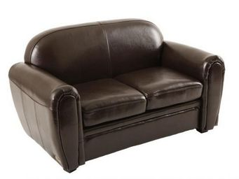 Miliboo - baby chesterfield marron - Child Sofa