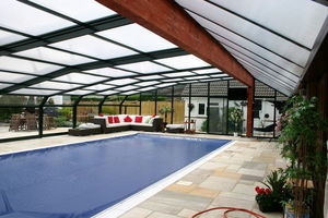 Telescopic Pool Enclosures - rhodos - Freestanding Pool Enclosure