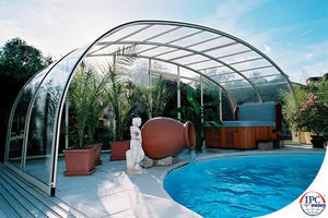 Telescopic Pool Enclosures -  - High Telescopic Pool Cover