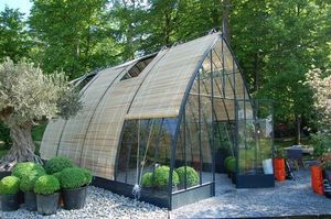 Serres et Ferronneries d'Antan - grand serre potagère - Greenhouse