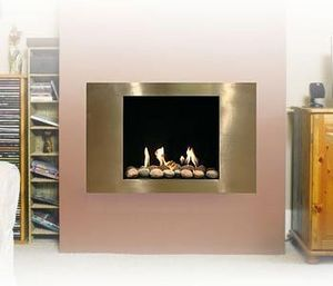 Stone & Fire - the jupiter fireplace - Fireplace Insert