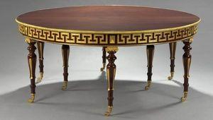 Aveline -  - Round Diner Table