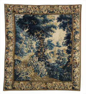 FOSTER-GWIN - flemish verdure tapestry - Flanders Tapestry
