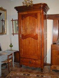 Au Mobilier Vendéen - bonnetière bordelaise louis xv - Bonnetiere Cupboard