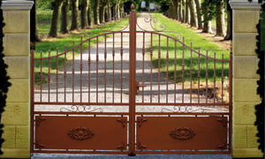 Cadiou Industrie - guimaec - Entrance Gate