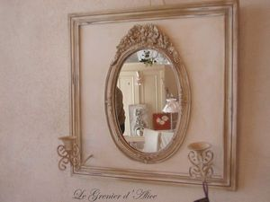 Le Grenier d'Alice - miroir01 - Illuminated Mirror