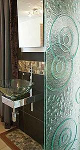 Hot Glass Design - shower screen - Shower Screen Panel