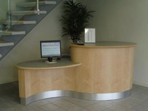 Tunnicliffe Furniture -  - Reception Desk
