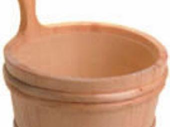 Norpe Saunas - wooden sauna pail with liner - Sauna Bucket