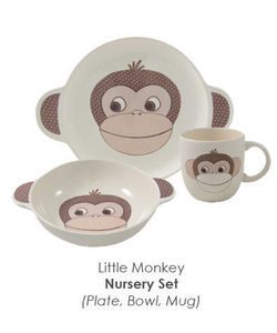 Aynsley - little monkey - Child Plate