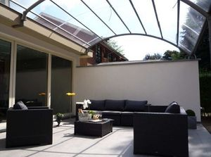 JARDIN CONFORT -  - Attached Pergola