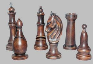 Hickory Manor House -  - Chess Piece