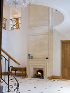 PINCKNEY GREEN FIREPLACES -  - Open Fireplace