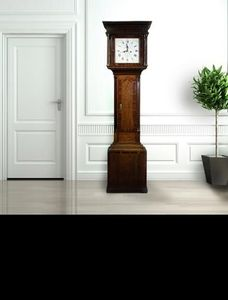 COUNTRY ANTIQUES -  - Free Standing Clock