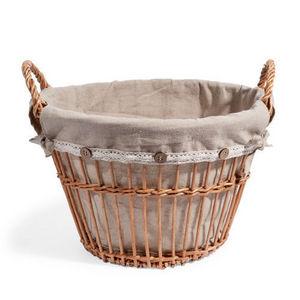 Maisons du monde - panier antan rond - Basket