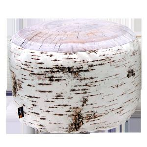 MEROWINGS - birch stump indoor pouf - Floor Cushion
