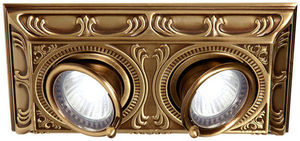 FEDE - toscana siena square two collection - Ceiling Lamp