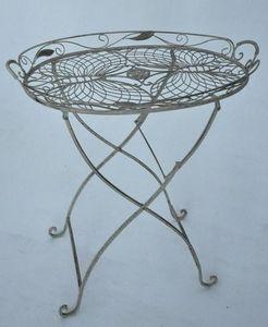 Demeure et Jardin - petite table ovale - Side Table