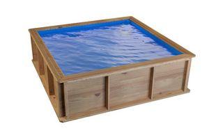 Procopi -  - Wood Surround Above Ground Pool