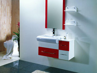 UsiRama.com - ensemble meuble salle de bain l`angleterre 90cm - Bathroom Furniture